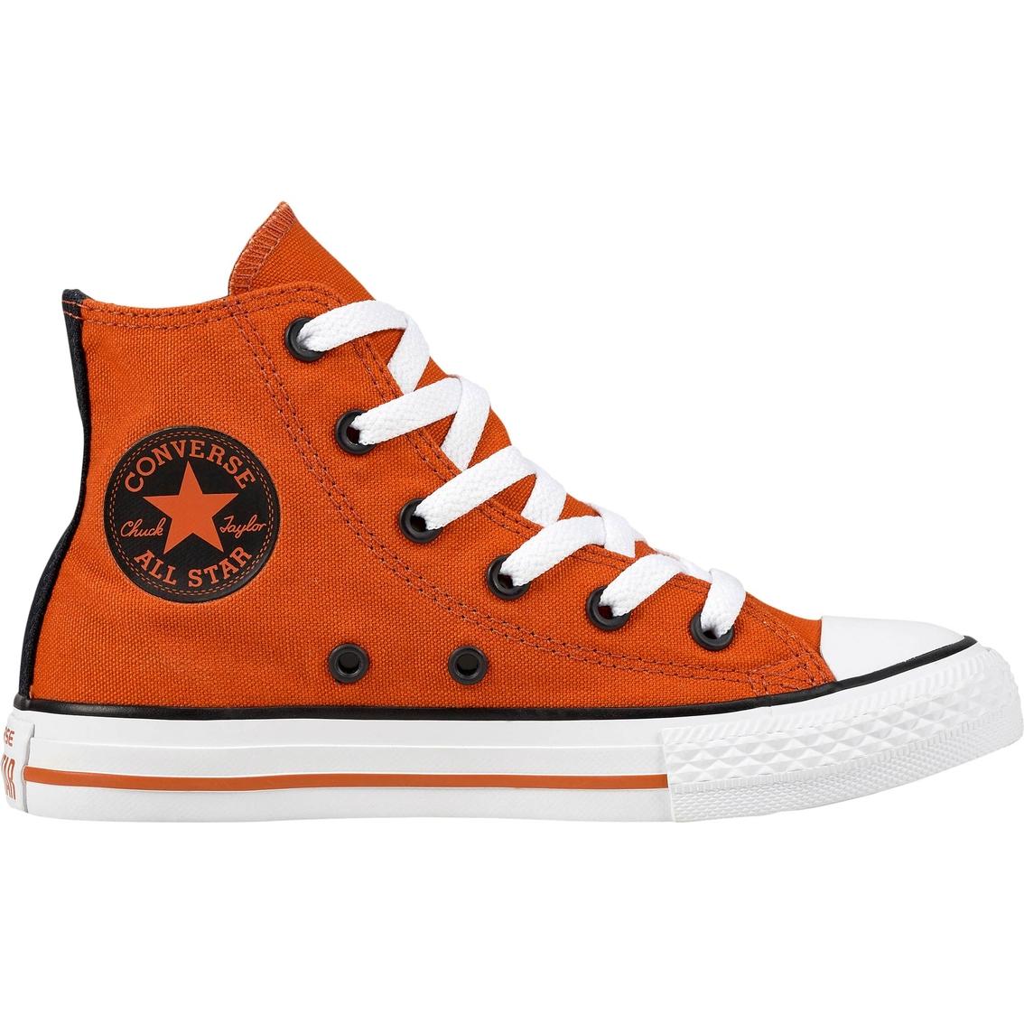 f549e01a0ad3 Converse Grade School Boys Chuck Taylor All Star High Top Sneakers ...