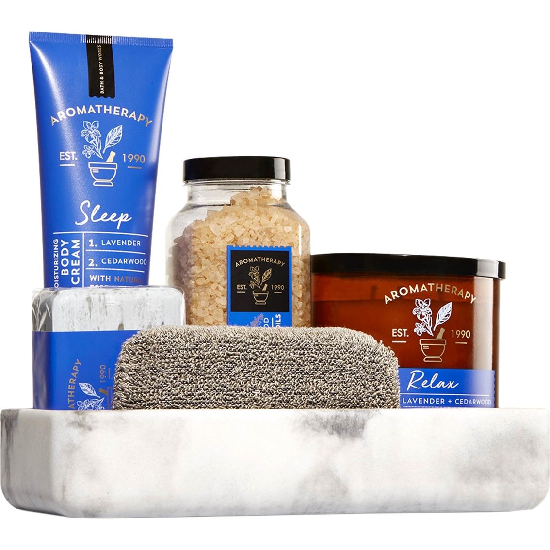 Bath Body Works Lavender Cedarwood Aromatherapy Bath Kit