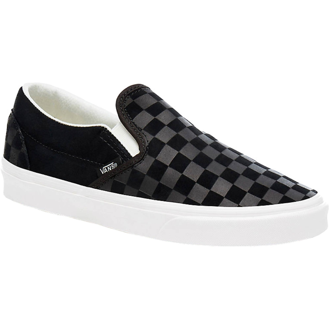 cheap vans checkerboard slip on