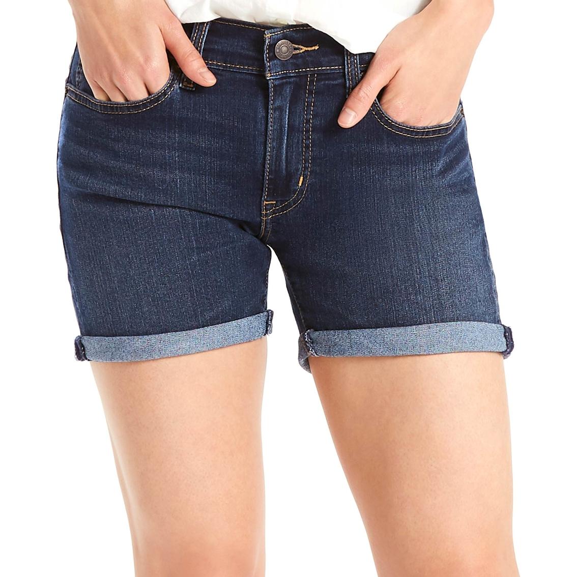 945ef6536a0 Levi s Women s Mid Length Denim Shorts