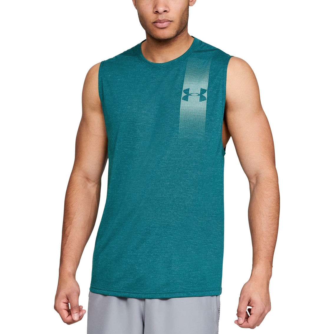 ab35426449af5d Under Armour Threadborne Graphic Muscle Tank