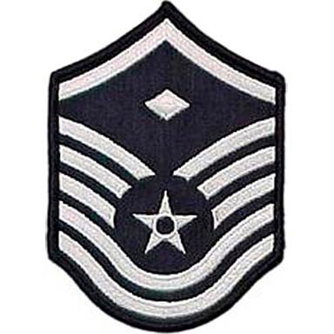 "CHEVRON 4/"" WIDE RANK PATCH TSgt AIR FORCE TECHNICAL SERGEANT"