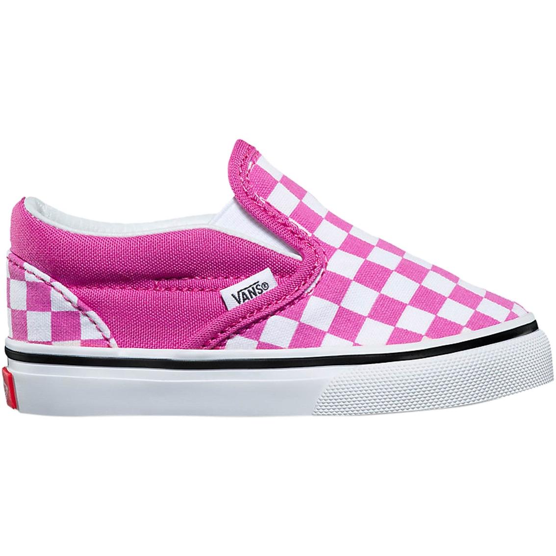 4d6f1c93981863 Vans Toddler Girls Slip On Checker Shoes