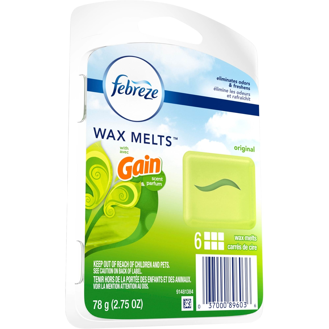 Febreze Wax Melts Air Freshener With Gain Original Air Fresheners Household Shop The Exchange