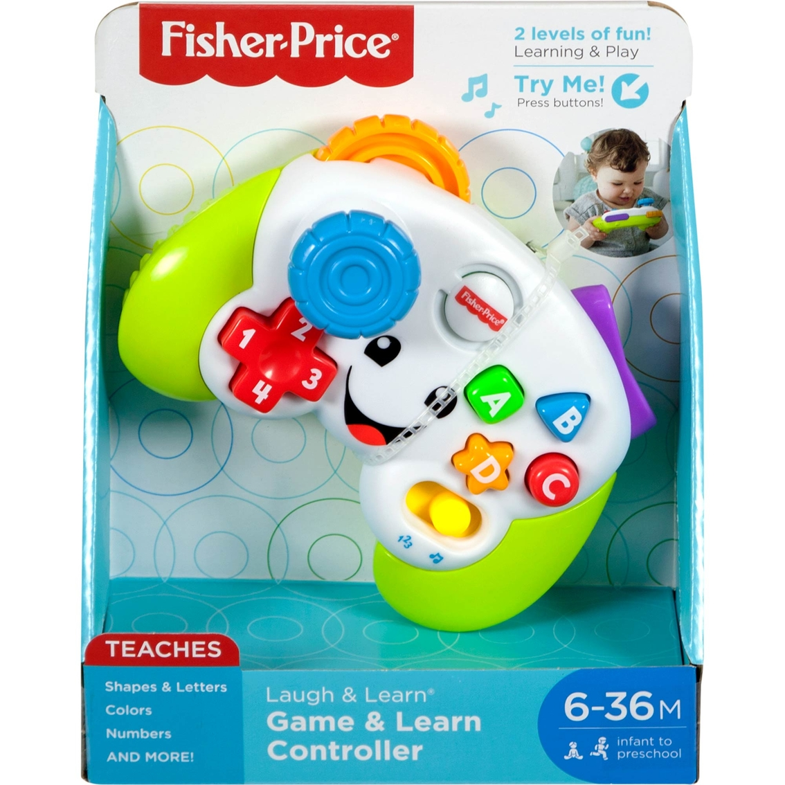3000f19c3e3b Fisher-price Laugh   Learn Game   Learn Controller
