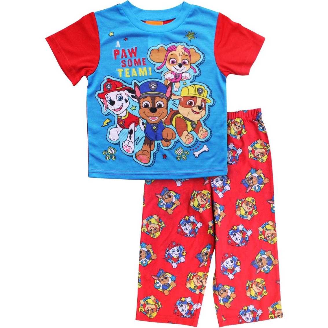 9ba62c0fdf Nickelodeon Toddler Boys Paw Patrol Pawsome Team 2 Pc. Pajama Set ...