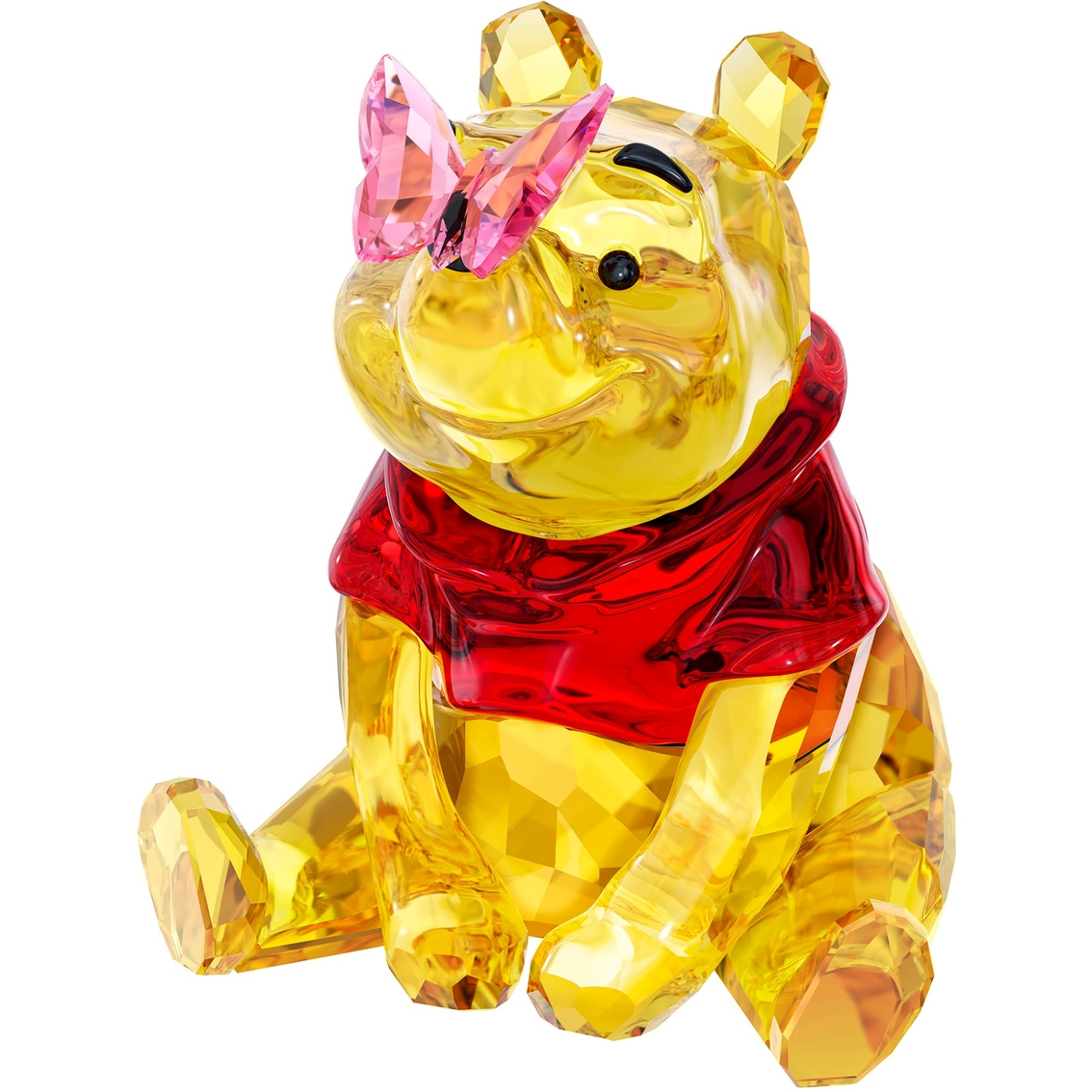 710a895856 Swarovski Winnie The Pooh With Butterfly   Collectible Figurines ...