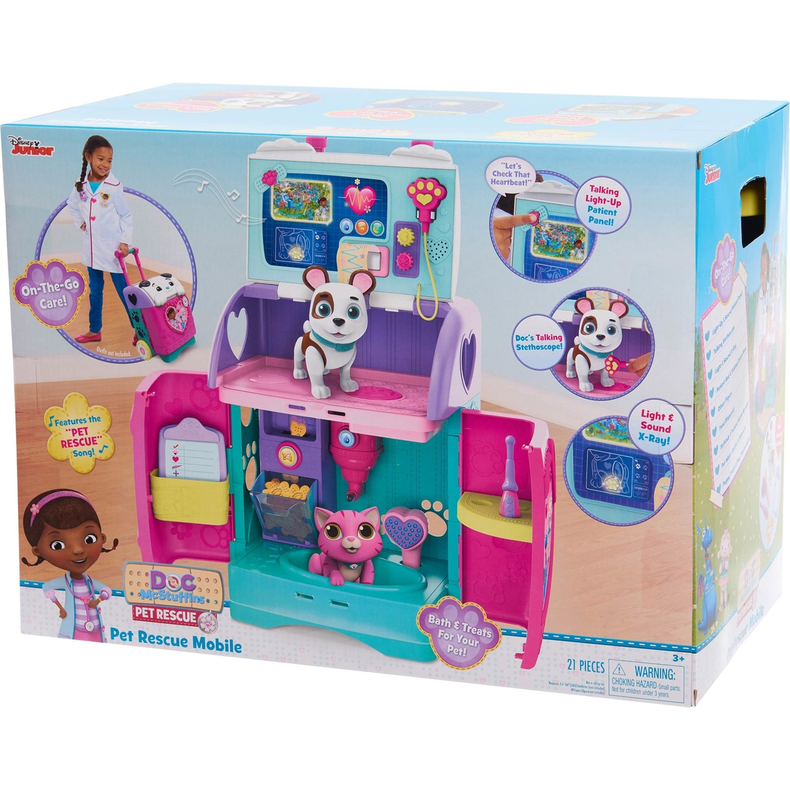 Hasbro Disney Junior Doc McStuffins Pet Rescue Mobile Clinic