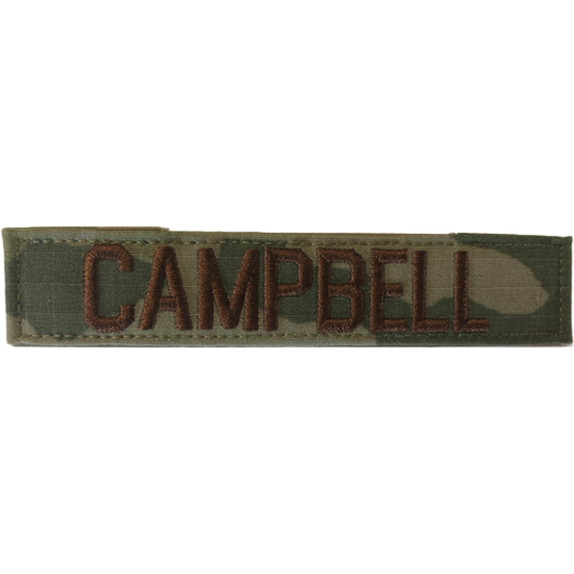 Embroidered Air Force Ocp Nametape With Velcro Standard 6 In
