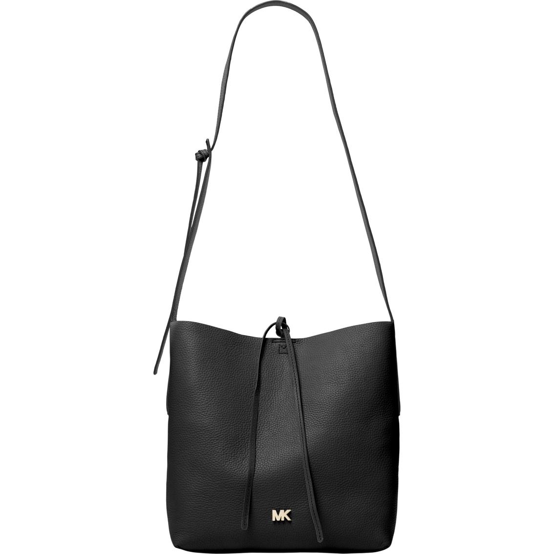 3b2a65bad6a518 Michael Kors Junie Leather Large Messenger Bag | Messenger Bags ...