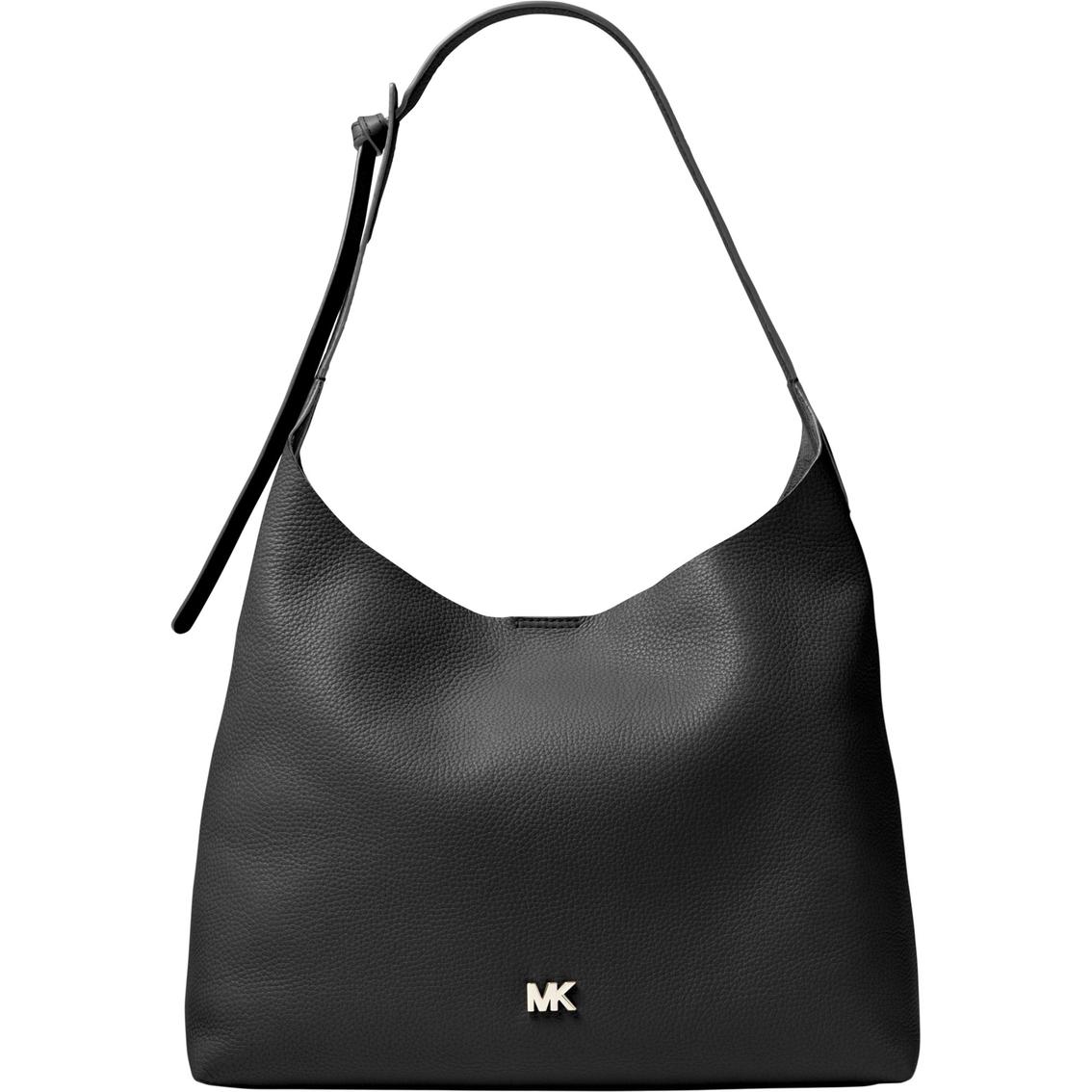 9f22f41af7 Michael Kors Junie Leather Medium Hobo Handbag