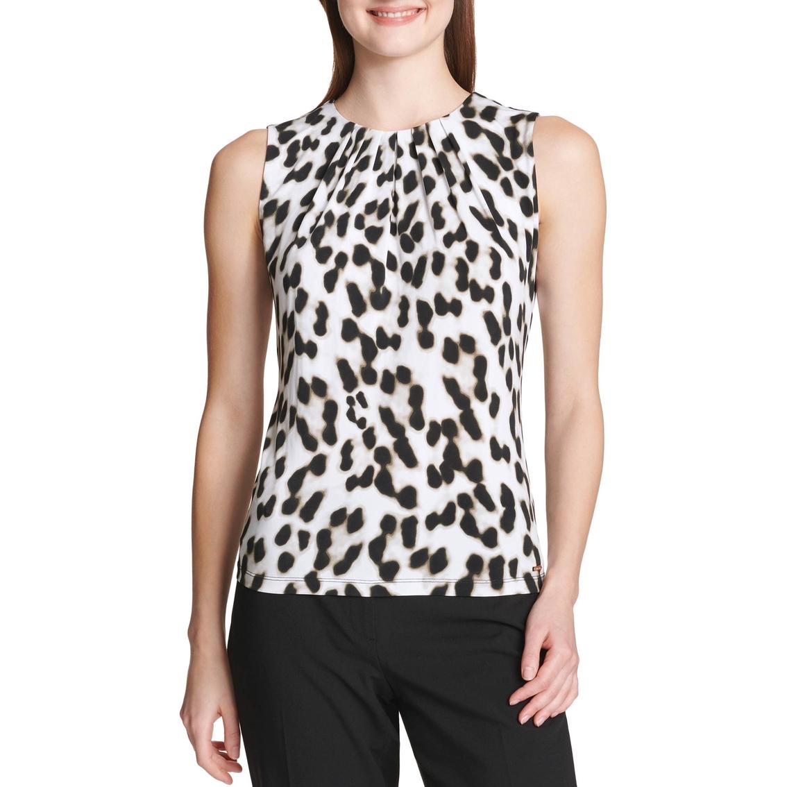 ab454bce6aa3 Calvin Klein Collection Animal Print Top   Blouses & Tunics ...