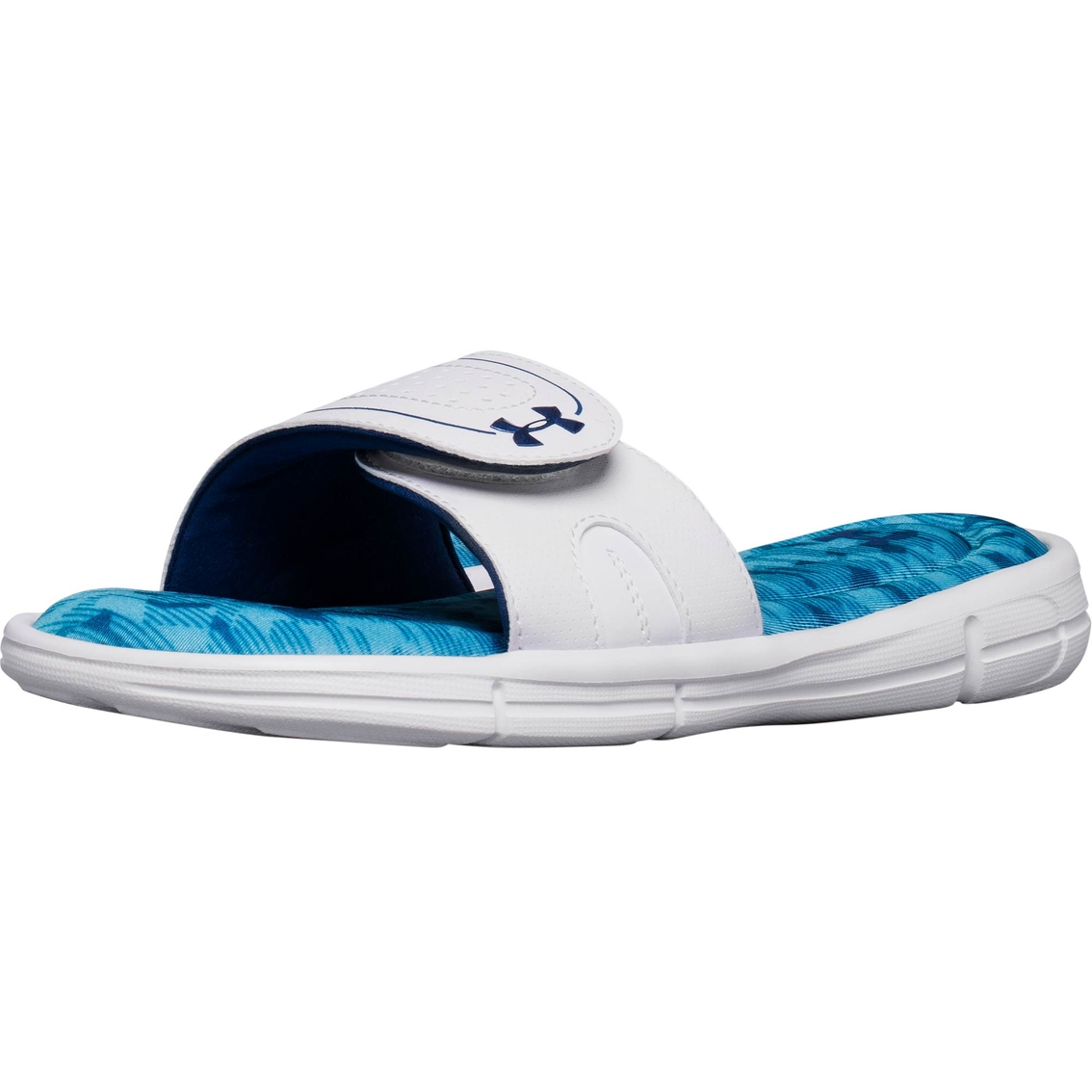 online store 99214 a5a20 Under Armour Women s Ignite VIII Edge Slide Sandals