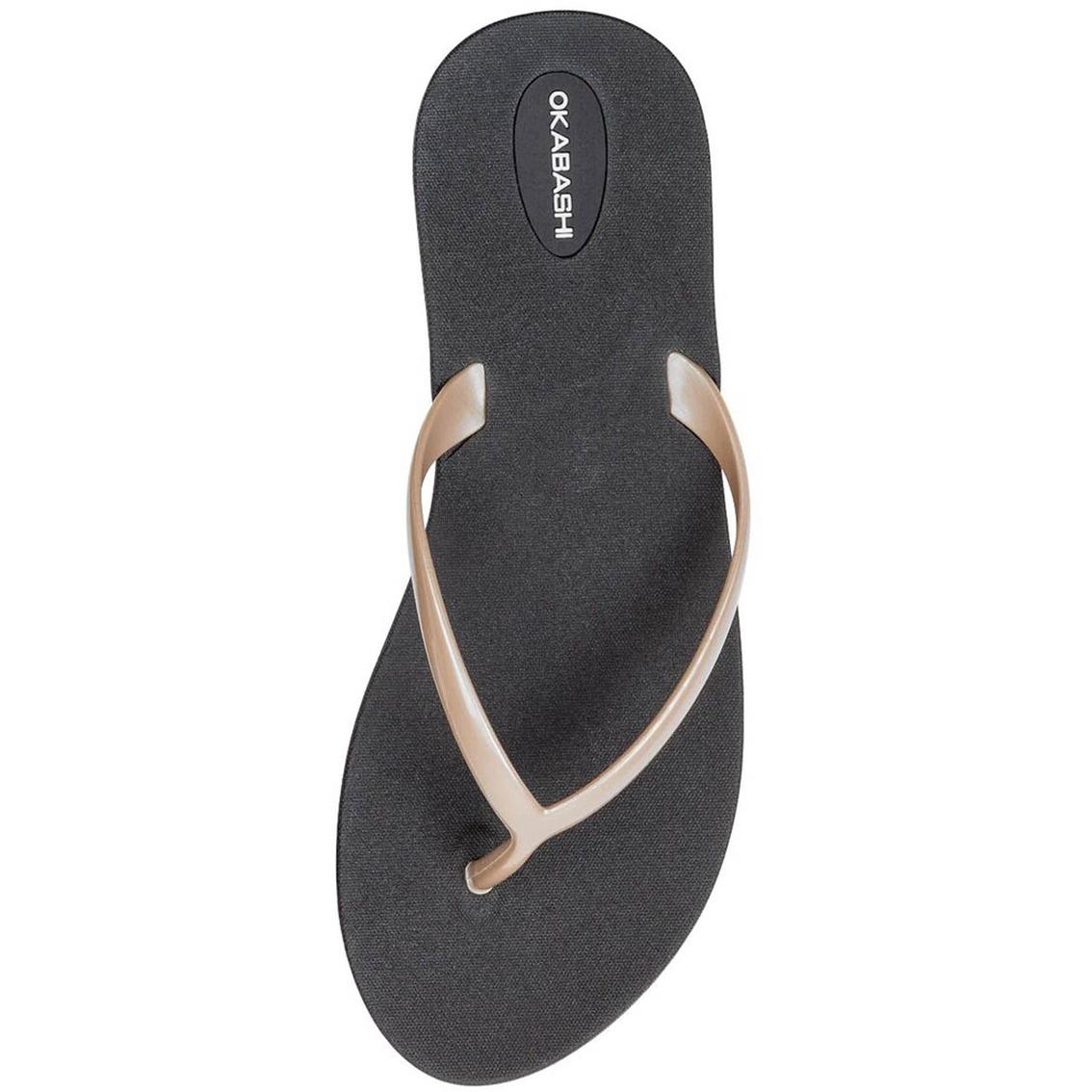 55eba3ba891b8 Okabashi Women s Shoreline Flip Flop Sandals