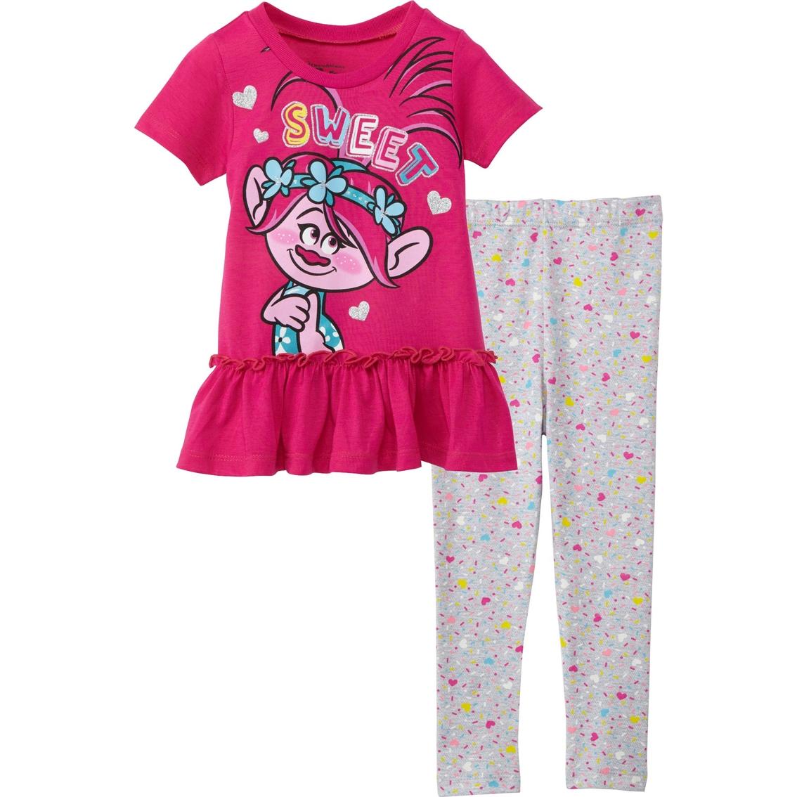 83a24488d Dreamworks Toddler Girls Trolls Shirt And Leggings Set   Toddler ...
