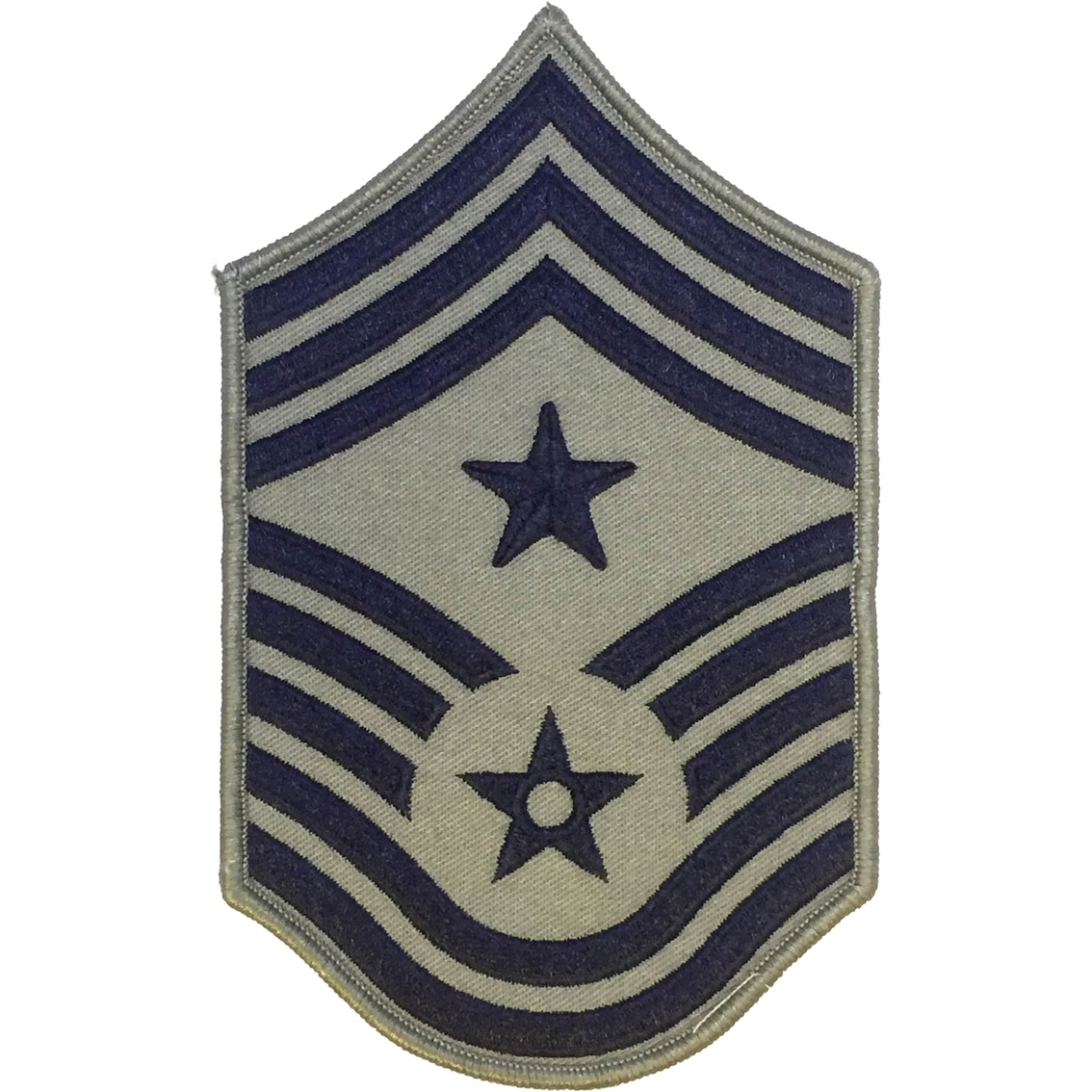 Air Force Command Chief Master Sergeant Ccm Chevron With Star Sew