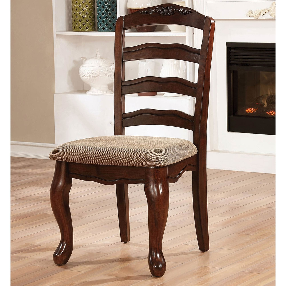Furniture Of America Townsville Cottage Side Chair 2 Pk