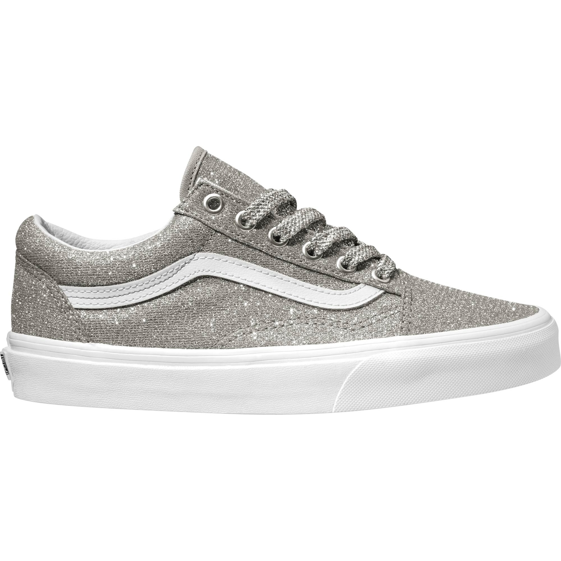 Vans Women s Old Skool Lurex Glitter Shoe  31c84922e