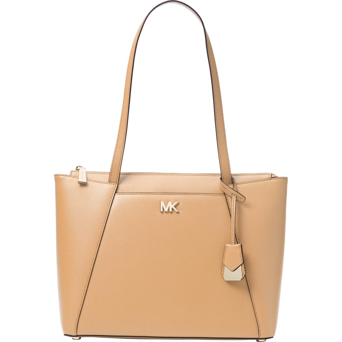 f8082e897df7 Michael Kors Maddie Leather Medium East West Top Zip Tote | Handbags ...