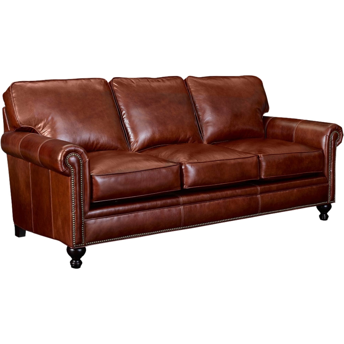 Pleasant Broyhill Harrison Leather Sofa Sofas Couches Home Andrewgaddart Wooden Chair Designs For Living Room Andrewgaddartcom