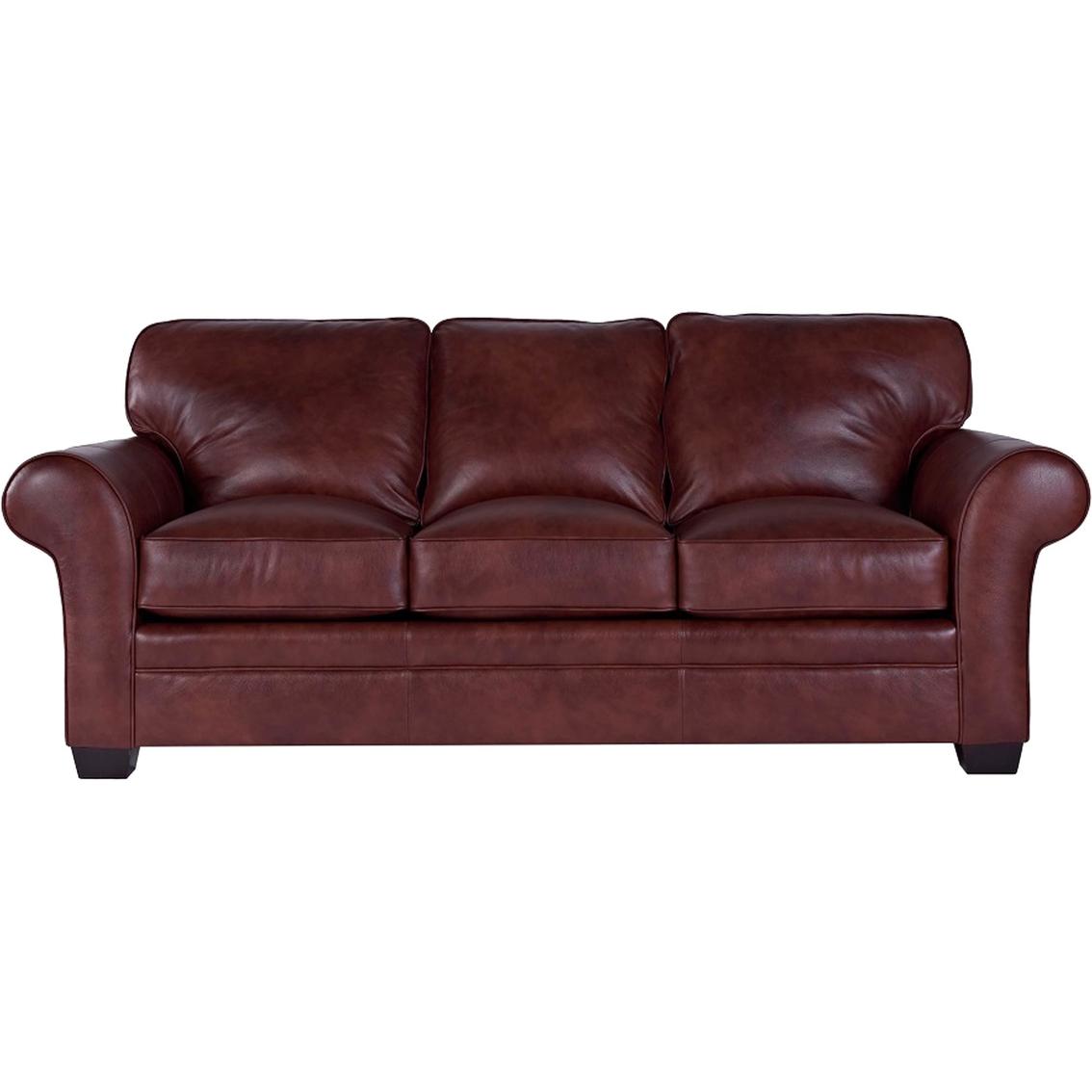 Broyhill Zachary Leather Queen Sofa Sleeper