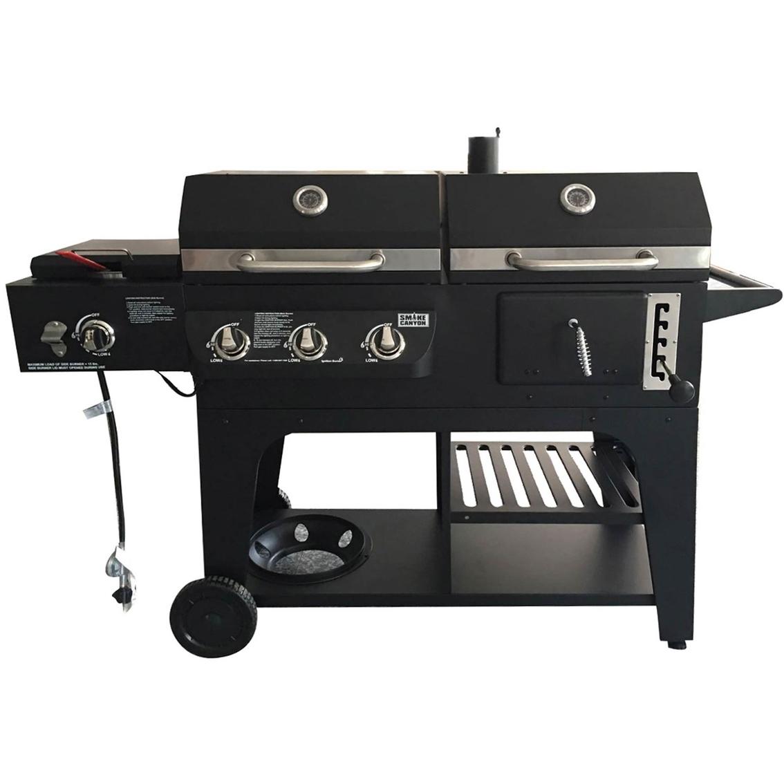 Smoke Canyon Hybrid Grill
