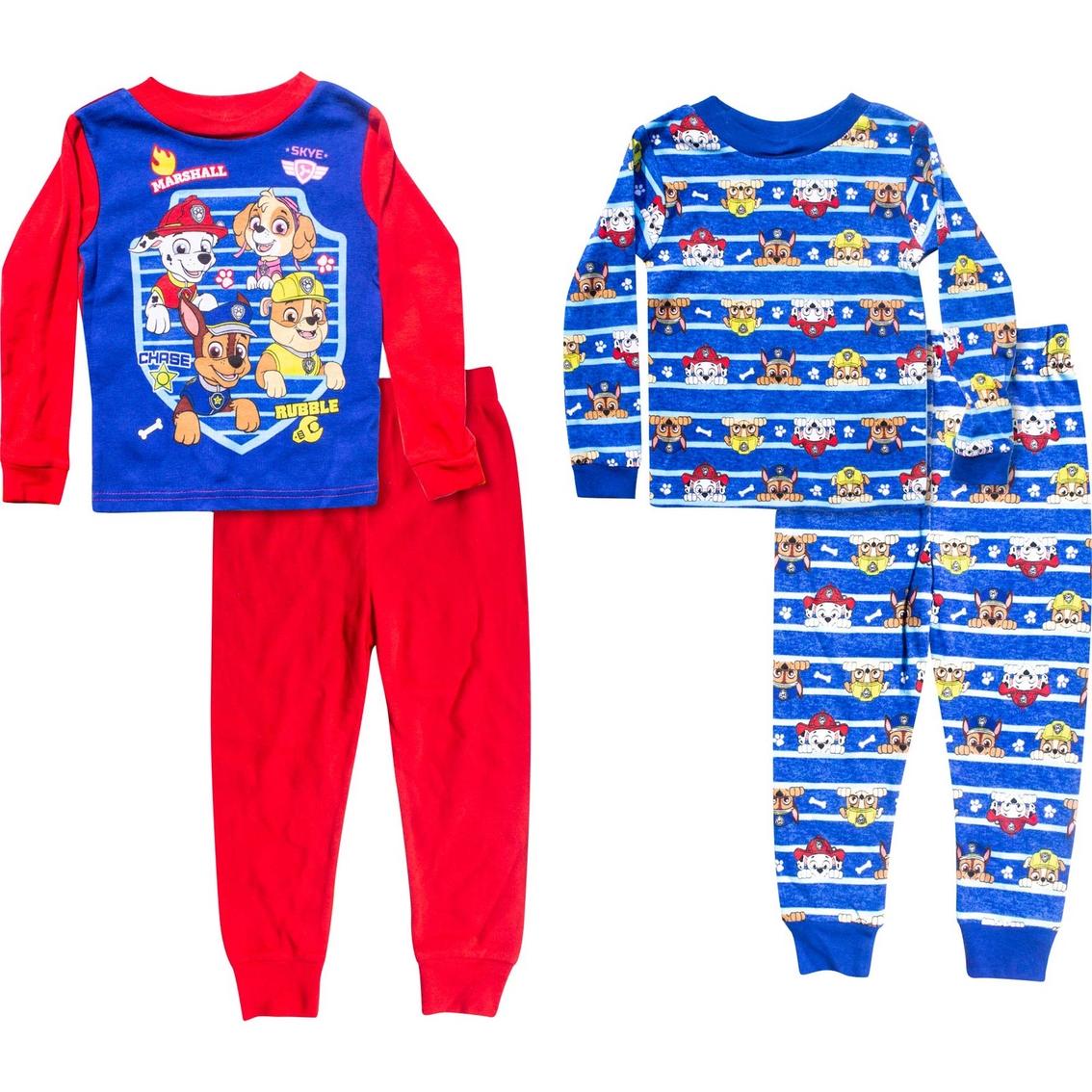 5c77c5f4c Nickelodeon Toddler Boys Paw Patrol 4 Pc. Pajamas Set | Toddler Boys ...