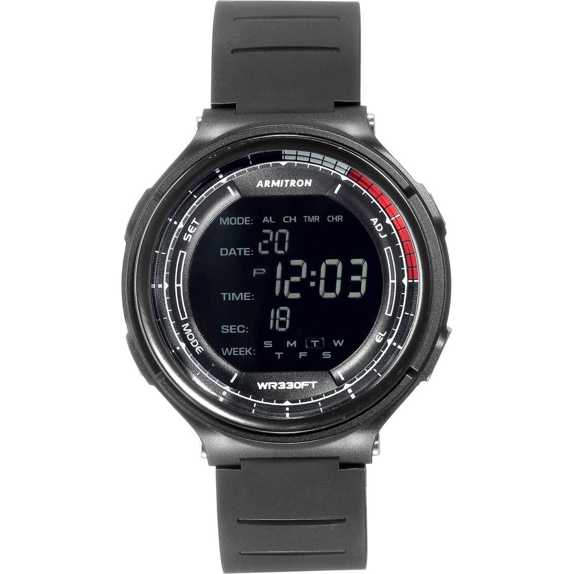 eb458d87c Armitron Sport Men's Digital Chronograph Resin Strap Watch 40/8418 ...