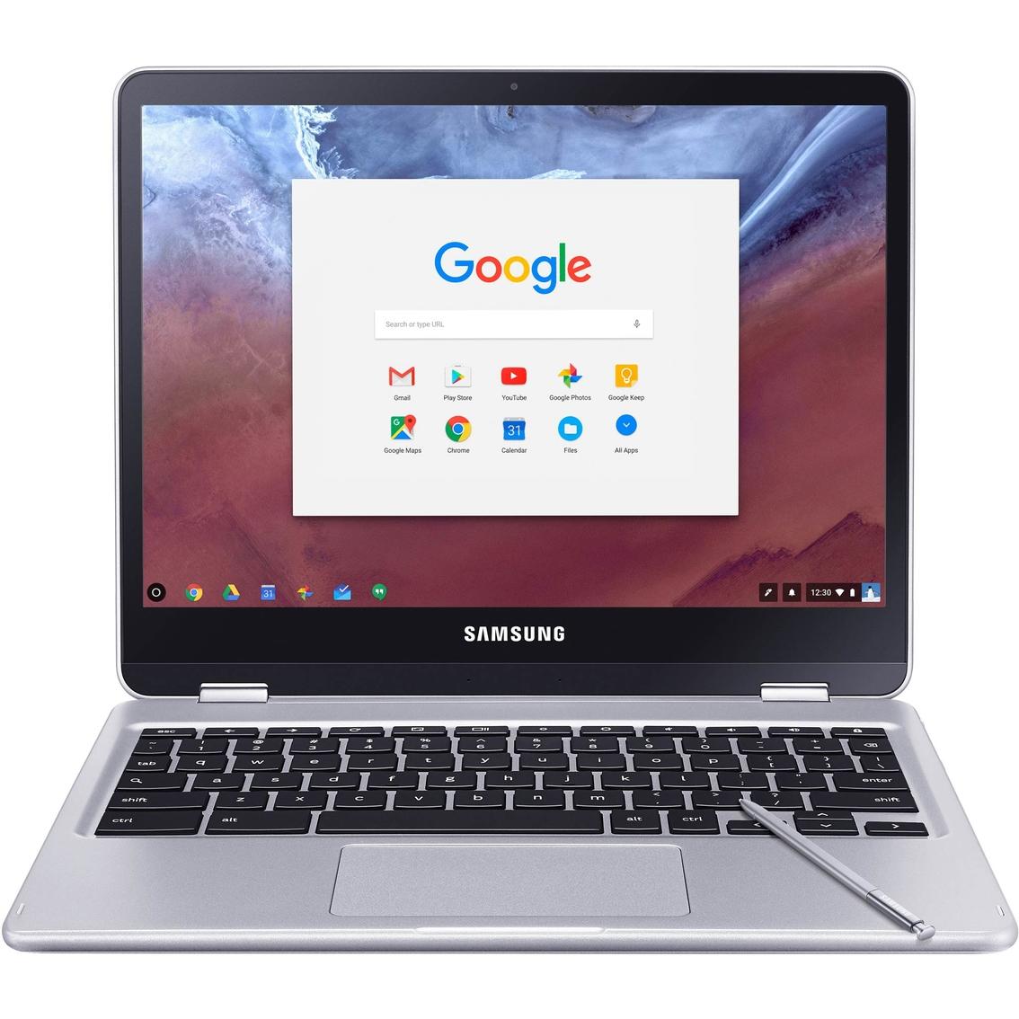 Samsung Chromebook Plus 12 3 In  Hexacore 2ghz 4gb 32gb Notebook