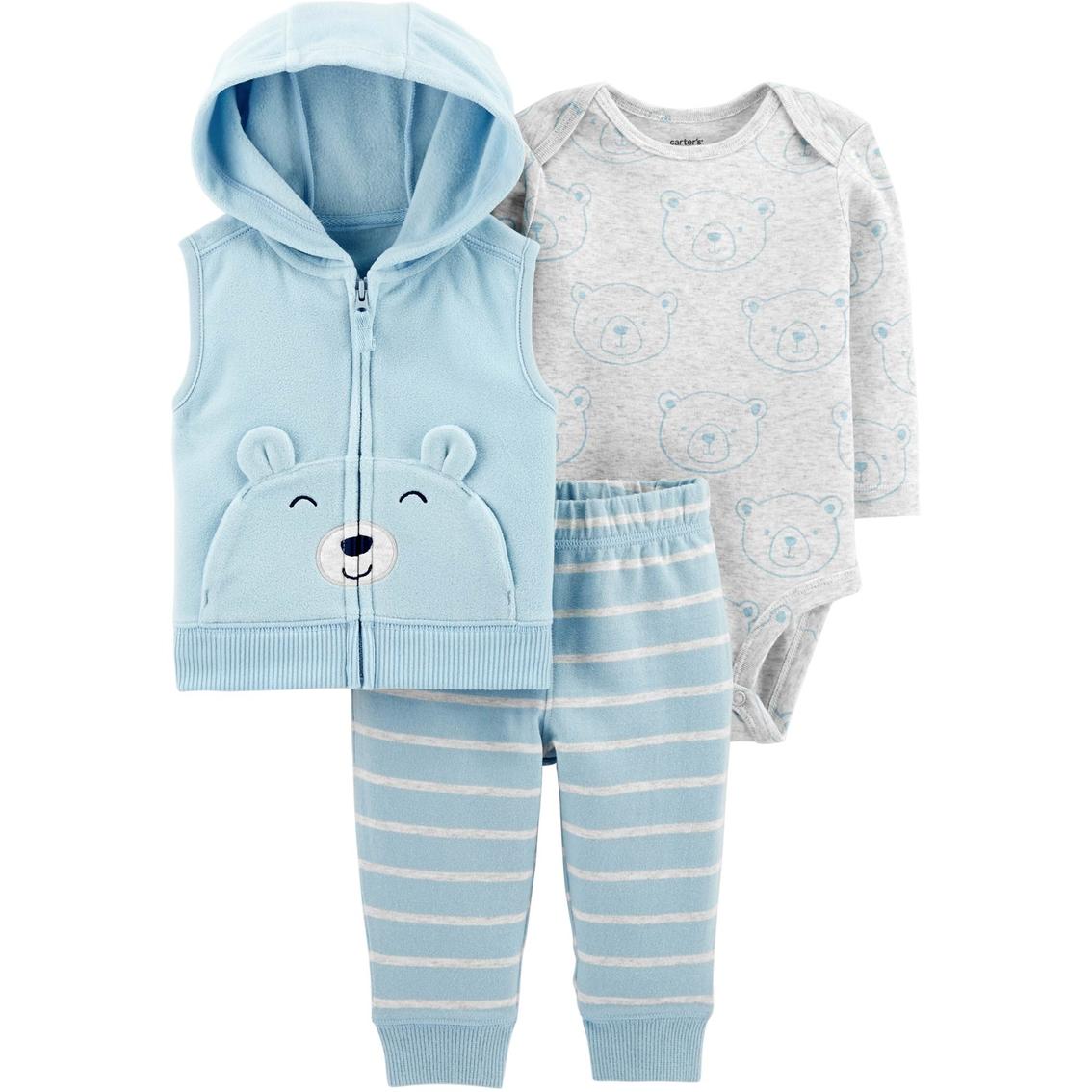 f6c4dc957 Carter s Infant Boys Stripe Vest Set