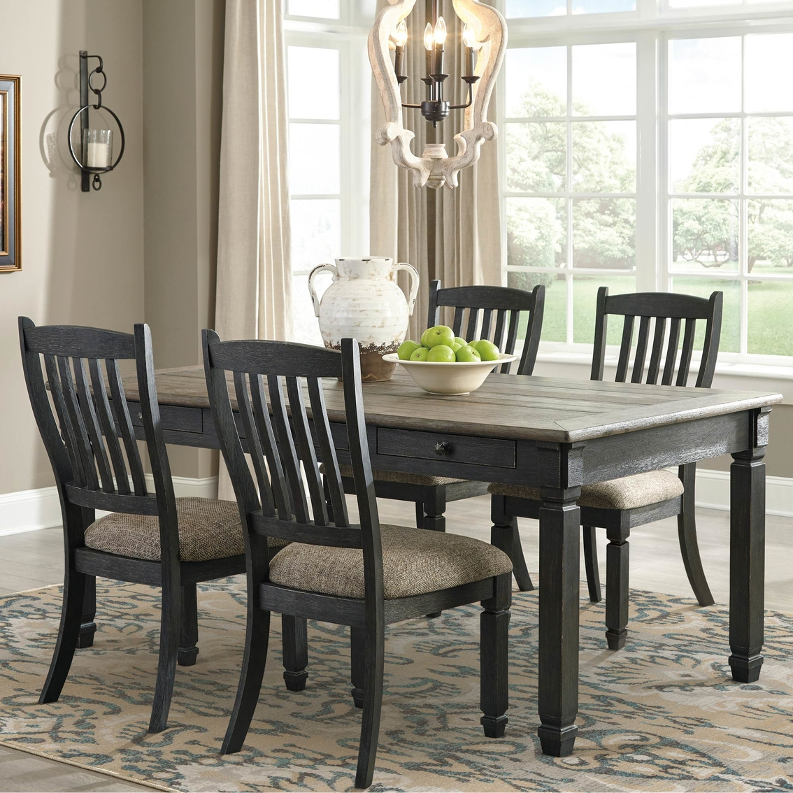 Signature Design By Ashley Tyler Creek 5 Pc. Dining Room ...