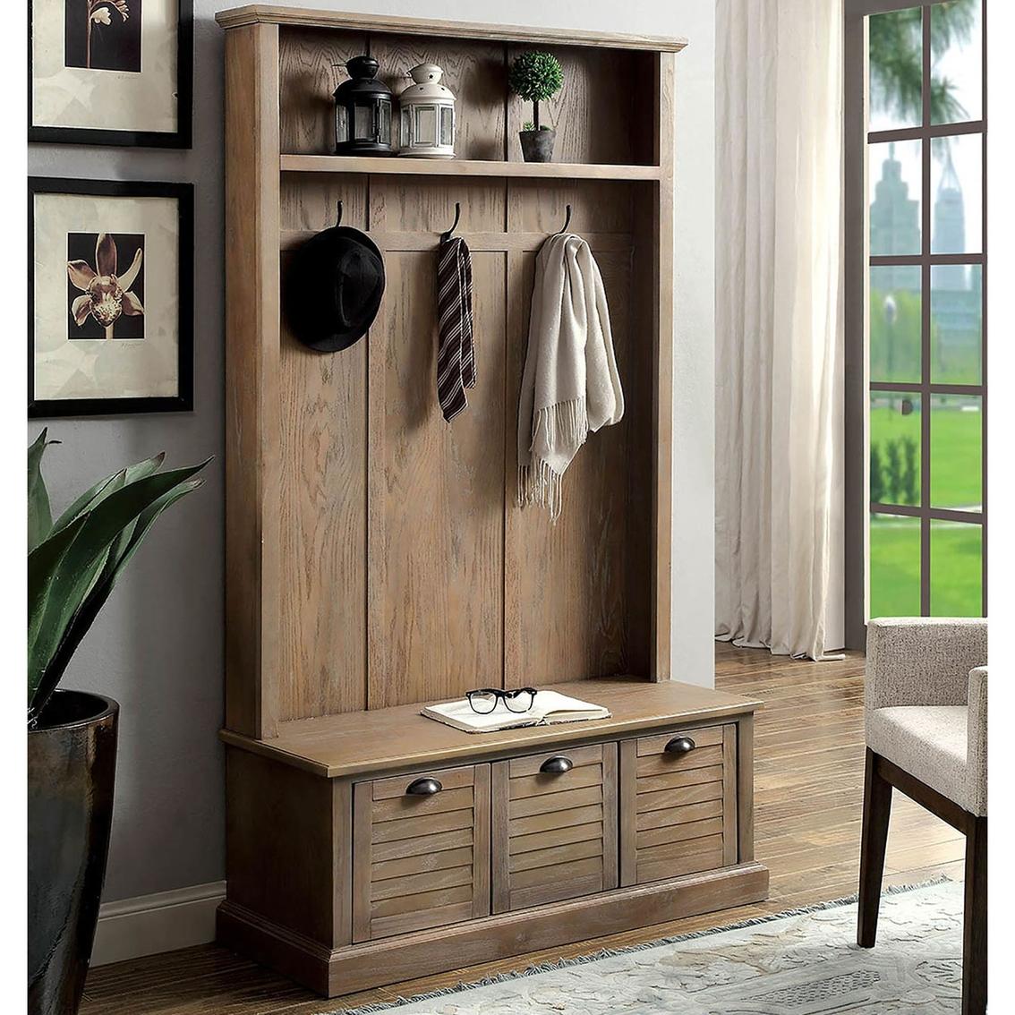 Furniture Of America Wineglo Coat Rack   Entry Furniture