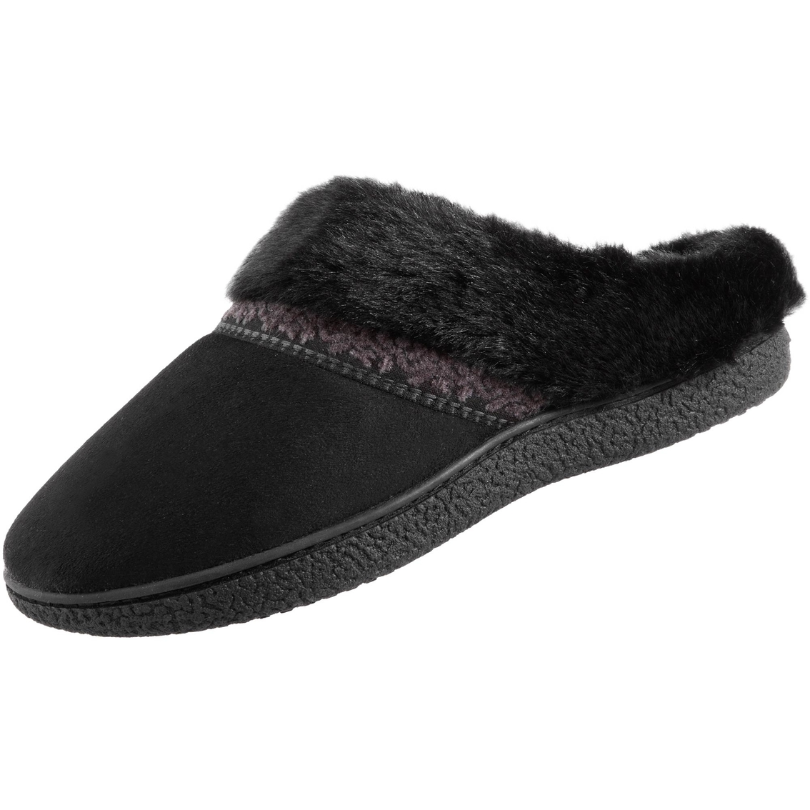 ebfd61a3a Isotoner Microsuede Basil Hoodback Slippers | Slippers | Shoes ...