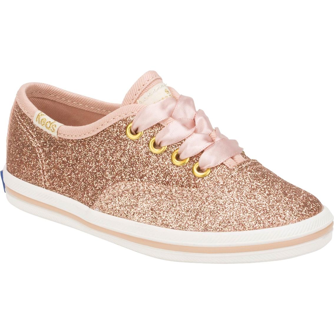 2bf99ad303af Keds For Kate Spade Toddler Girls Champion Glitter Sneakers ...