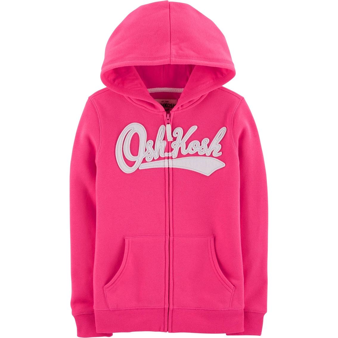 56513058fb Oshkosh B gosh Little Girls Logo Hoodie