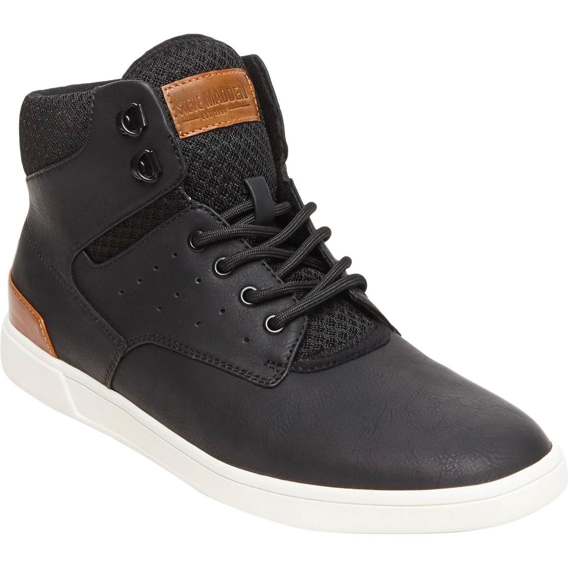 Steve Madden Men's Fridged Black Shoes