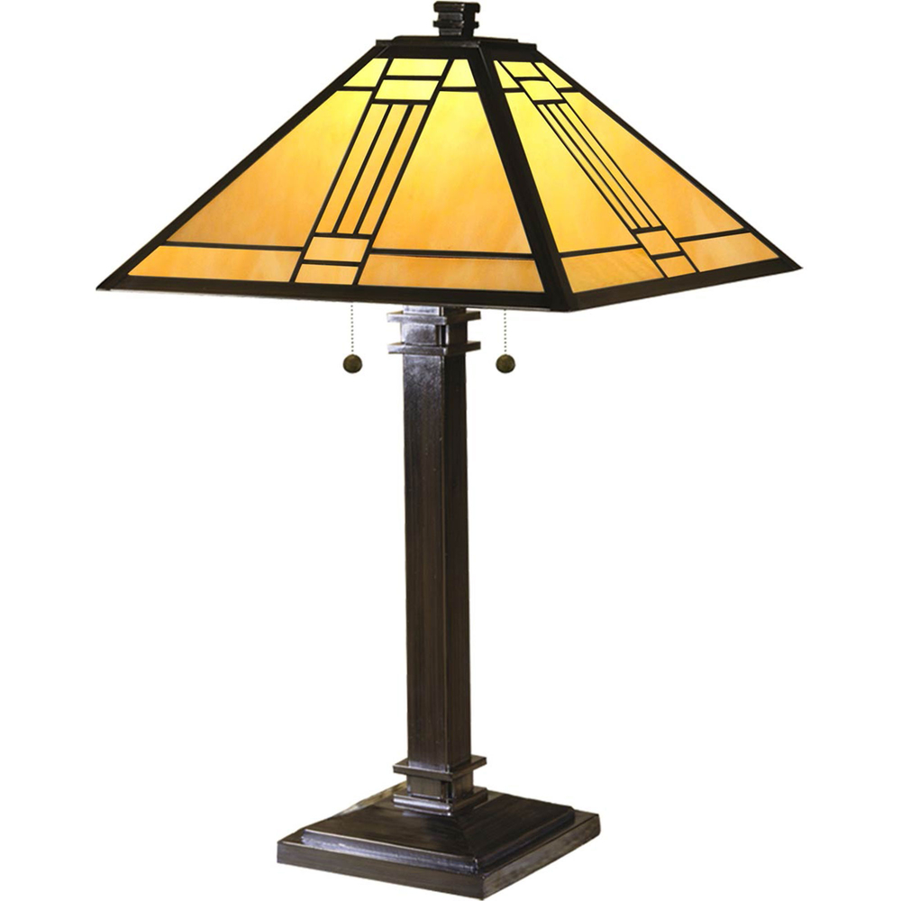 Dale tiffany noir mission table lamp table lamps home dale tiffany noir mission table lamp aloadofball Images