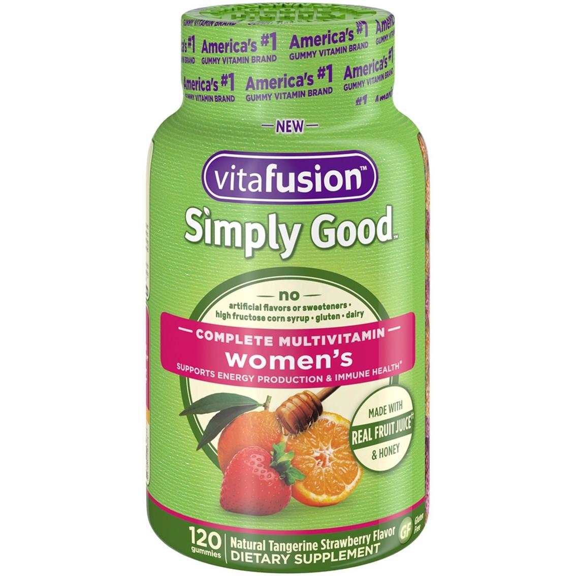 Best Womens Multivitamin 2020.Vitafusion Simply Good Women S Complete Multivitamin 120 Pk