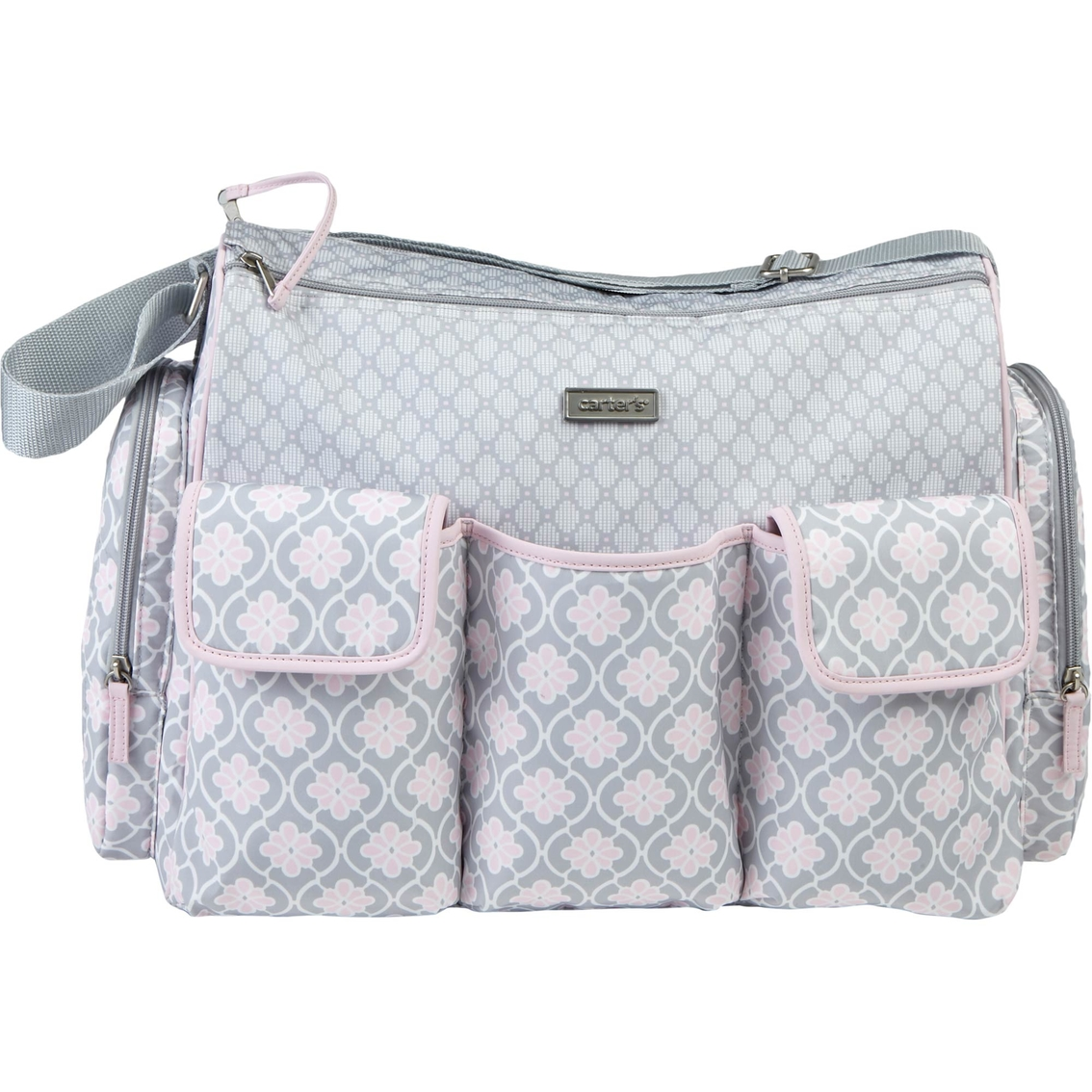 1870fc2342 Carter s Triple Pocket Duffel Diaper Bag