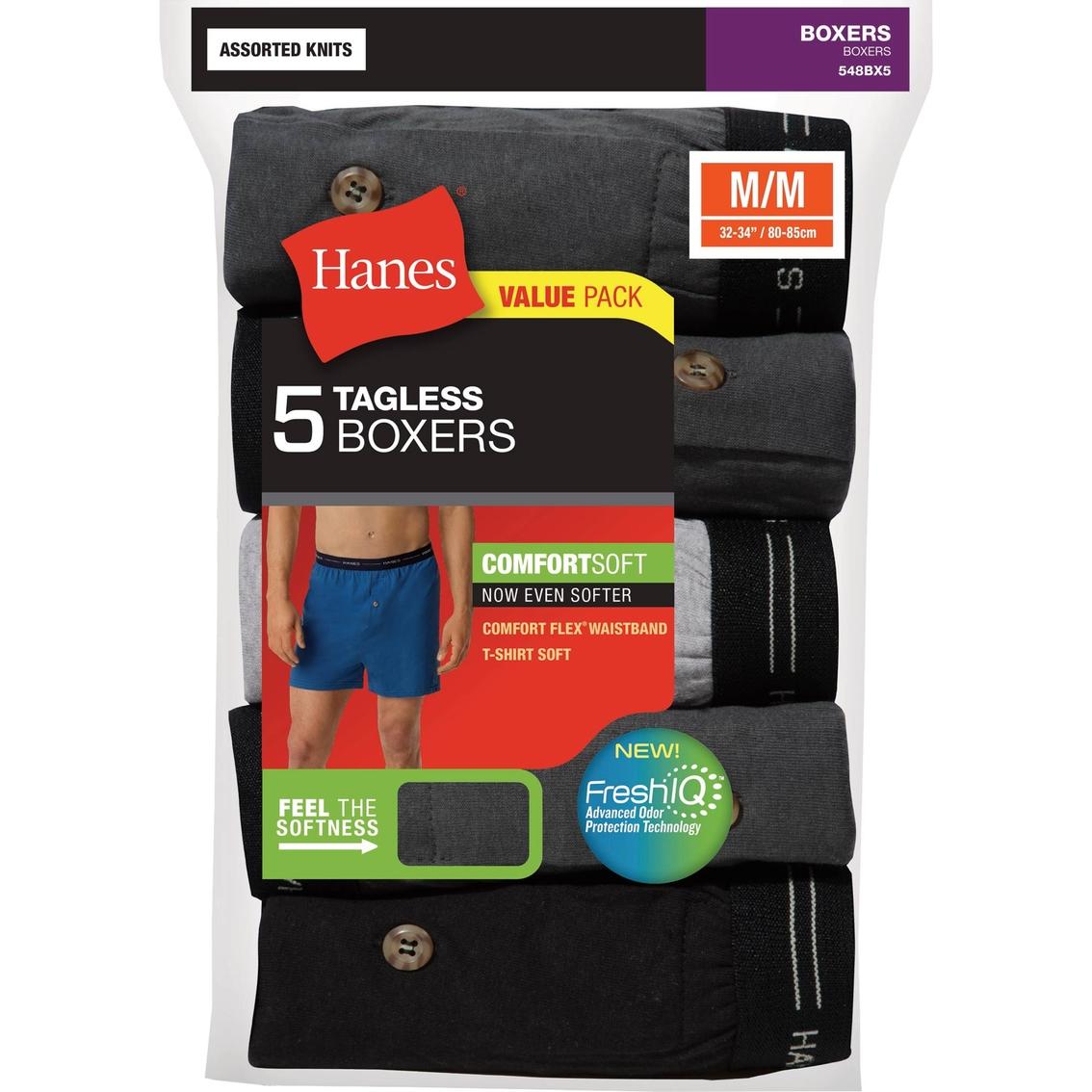 68fd18a5be8b Hanes Comfortsoft Knit Boxers 5 Pk. | Underwear | Apparel | Shop The ...