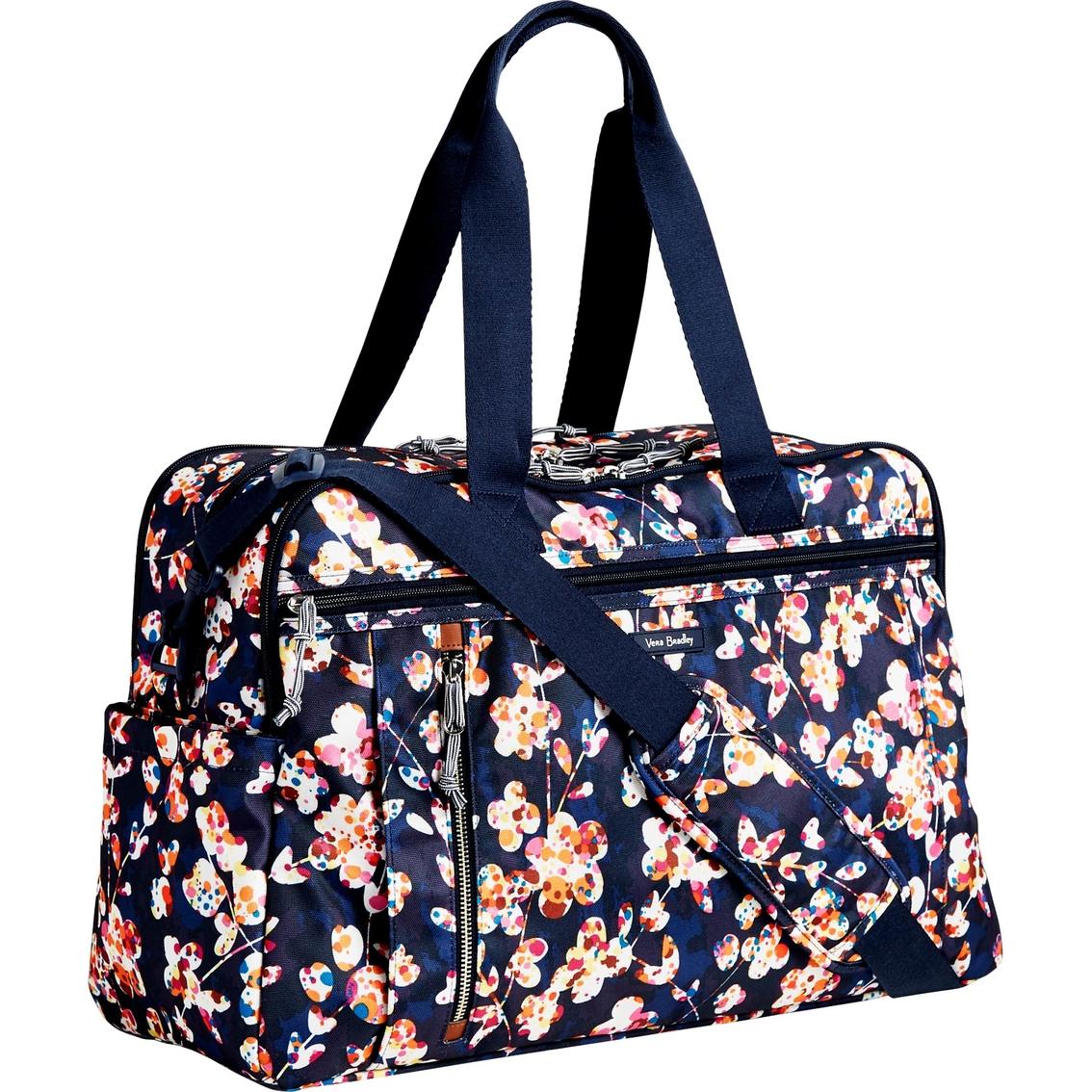 39f472840 Vera Bradley Lighten Up Weekender Travel Bag, Cut Vines | Shop By ...