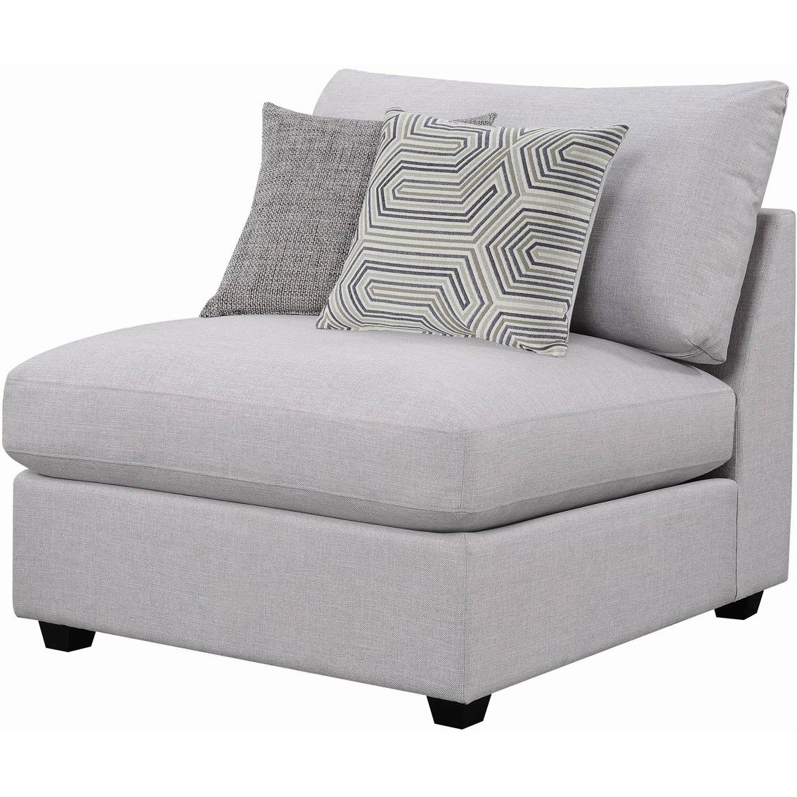 Pleasing Scott Living Charlotte Modern Sectional Armless Chair Spiritservingveterans Wood Chair Design Ideas Spiritservingveteransorg