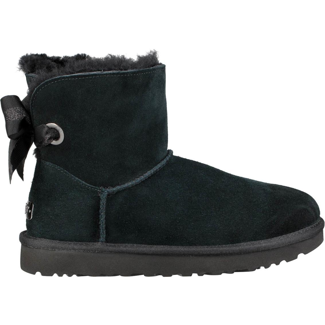 ugg customizable bailey bow mini boots booties shoes shop the rh shopmyexchange com