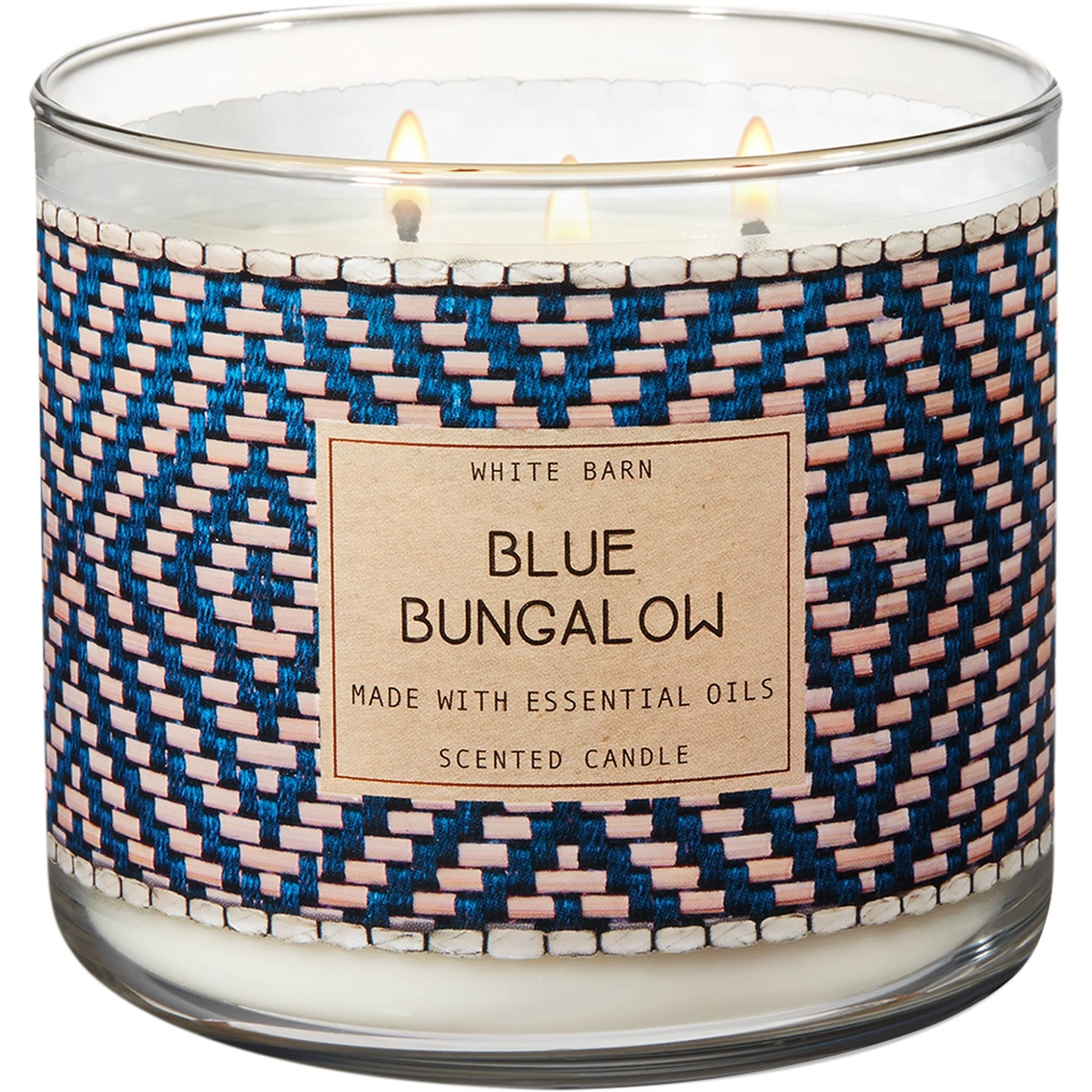 Bath Body Works Blue Bungalow 3 Wick Candle Candles Home