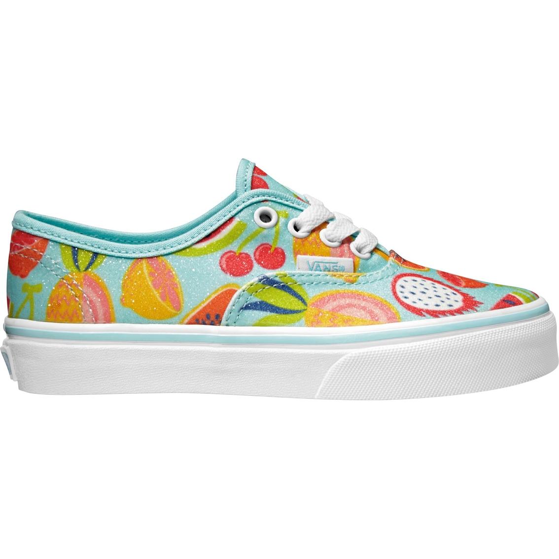5051fa768f Vans Girls Authentic Mint Fruit Sneakers