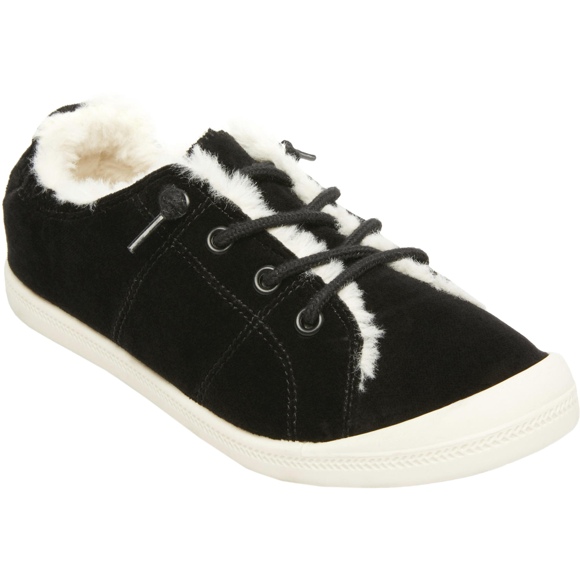 5050fa19bfbc6b Madden Girl Bailey Faux Fur Lined Sneakers