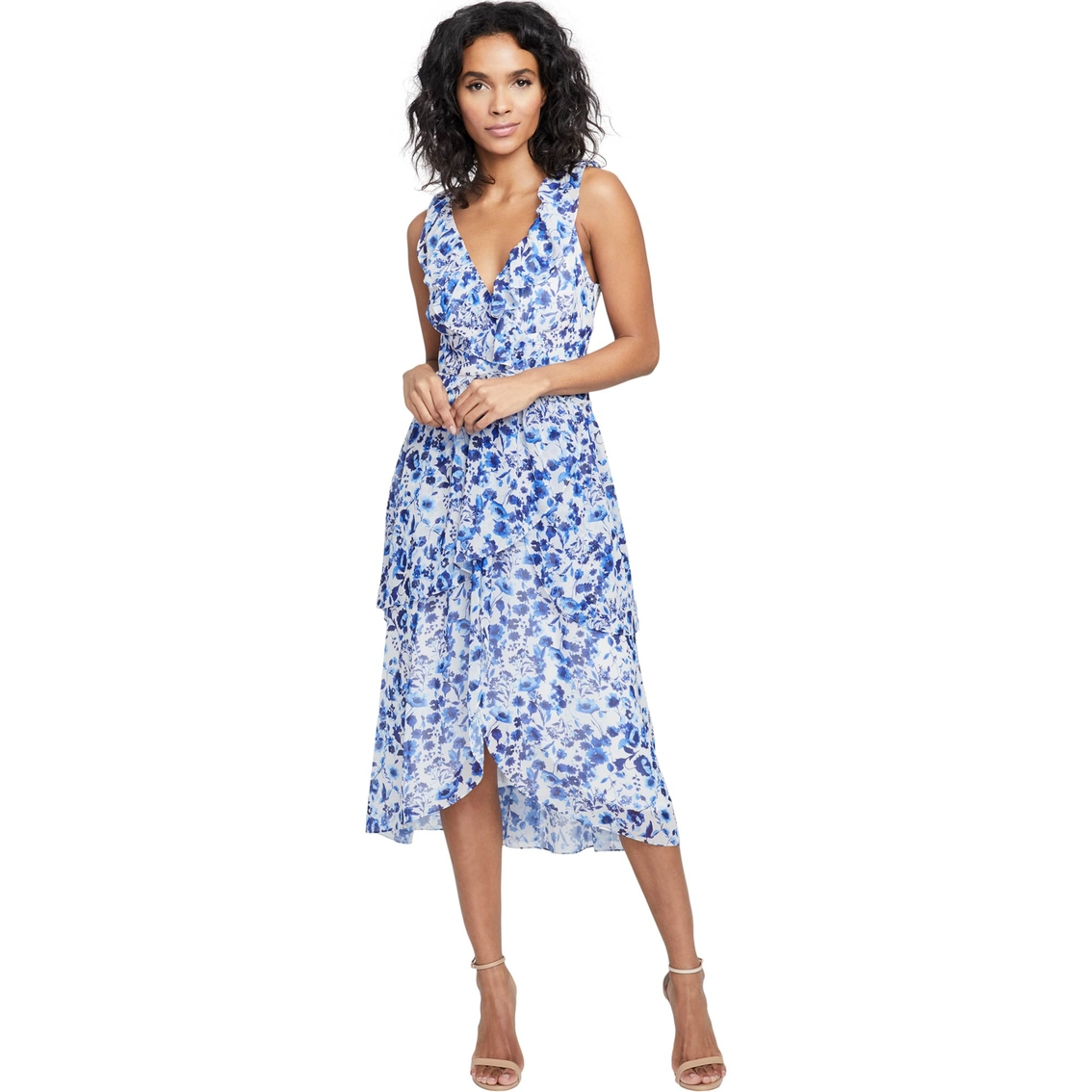 Rachel Roy Discount Gowns: Rachel Roy Floral Dress