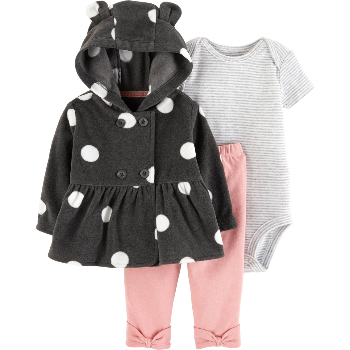 510bb71cf076 Carter s Infant Girls 3 Pc. Little Cardigan Set
