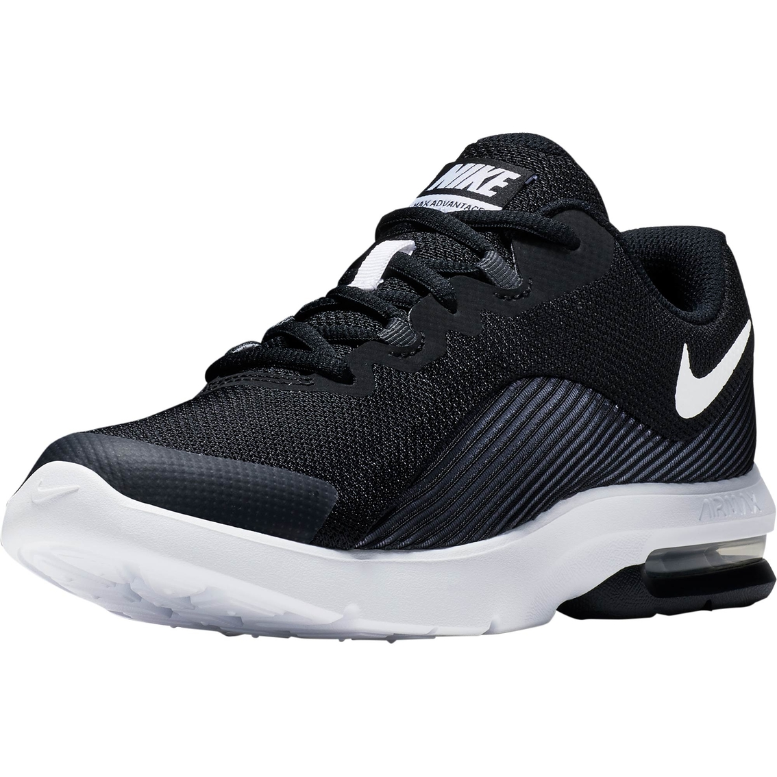 29b354b5d6208d Nike Grade School Boys Air Max Advantage 2 Running Shoes ...