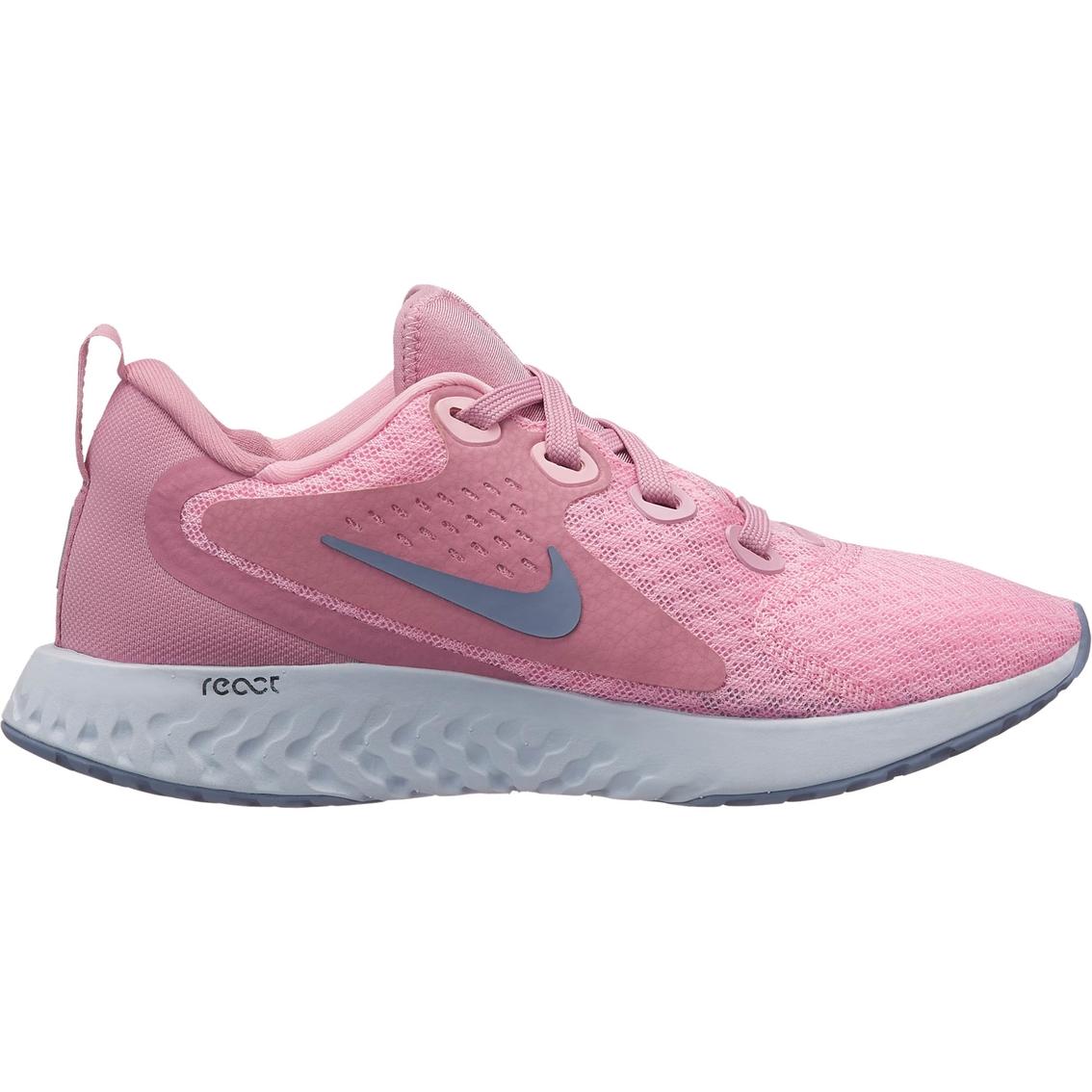 8adbb3ea5111 Nike Grade School Girls Rebel React Running Shoes